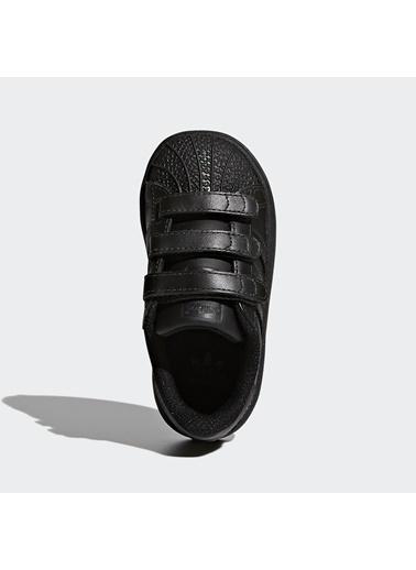 adidas Unisex Çocuk Superstar Cf I Spor Ayakkabı BZ0417 Renksiz